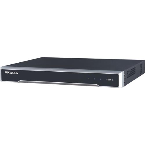 Estación de videovigilancia Hikvision DS-7616NI-K2 - 16 Canales - Grabador de vídeo en red - H.265, H.264, MPEG-4 Formatos - 1 Audio In - 1 Audio Out - 1 VGA Out - HDMI