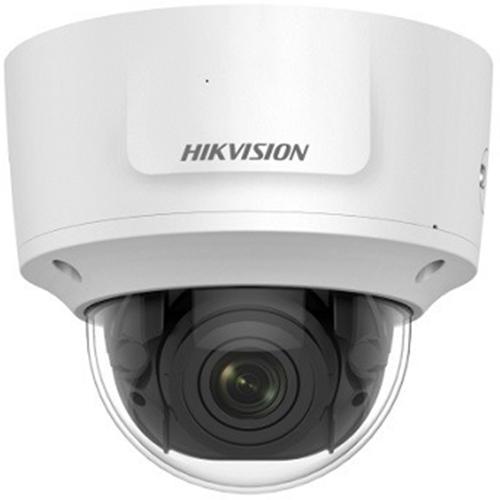 Cámara de red Hikvision DS-2CD2743G0-IZS 4 Megapíxel - Color - 30 m Night Vision - H.264, H.265 - 2688 x 1520 - 2,80 mm - 12 mm - 4,3x Óptico - CMOS - Cable - Cúpula - Fijacion en techo, Soporte de Pared, Montaje en esquina, Montable en poste, Montaje colgante