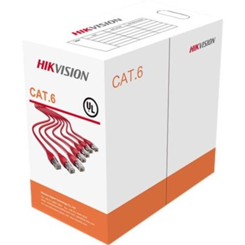 Cable de red Hikvision Categoría 6 - para Dispositivo de red - Cable desnudo - Cable desnudo - Negro