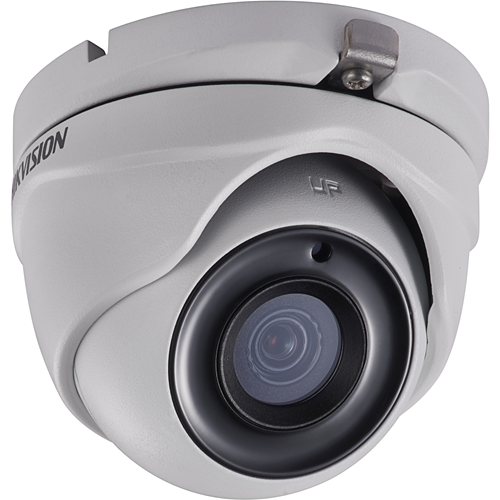 Cámara de vigilancia Hikvision Turbo HD DS-2CE56D8T-ITME 2 Megapíxel - Color, Monocromo - 20 m Night Vision - 1920 x 1080 - 2,80 mm - CMOS - Cable - Torreta - Soporte de Pared, Montable en poste, Montura de caja de empalme