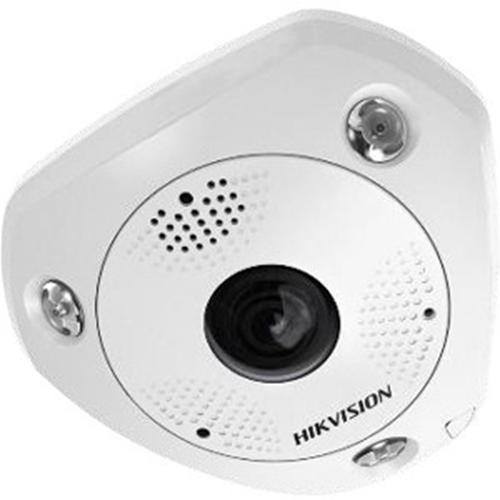 Cámara de red Hikvision DeepinView DS-2CD63C5G0-IVS 12 Megapíxel - 15 m Night Vision - H.264, Imagen JPEG, H.265 - 4000 x 3000 - CMOS - Montura de caja de empalme, Fijacion en techo, Soporte de Pared, Montaje colgante