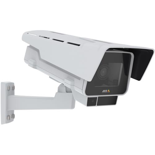 Cámara de red AXIS P1377-LE 5 Megapíxel - Caja - H.264/MPEG-4 AVC, Imagen JPEG - 2592 x 1944 - 2,9x Óptico - RGB CMOS - Soporte de Pared, Montaje en conducto, Fijacion en techo, Montaje en esquina, Montable en poste