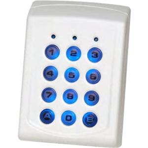 XPR Teclado de seguridad - Resistente a la alteración, Resistente a la lluvia, Resistente a la UV, Resistente al polvo - Plástico