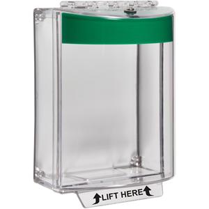 STI Universal Stopper Cubierta de Seguridad - Interior, Exterior - Policarbonato - Verde