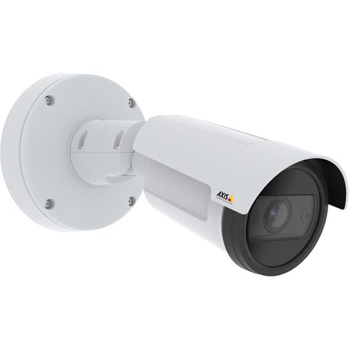 Cámara de red AXIS P1455-LE 2 Megapíxel - Bala - 40 m Night Vision - MJPEG - 1920 x 1080 - 3x Óptico - RGB CMOS - Montura de caja de empalme, Montable en poste, Montaje en esquina, Montaje en conducto