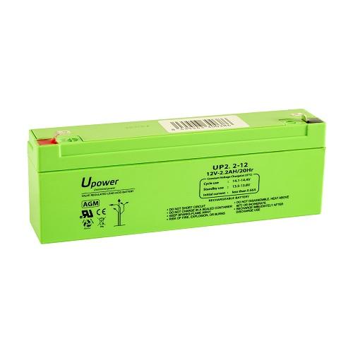 Batería Master Battery - Ácido de plomo sellada (SLA) - 20 / Caja - Para Sistema de seguridad - Batería Recargable - 12 V - 2200 mAh