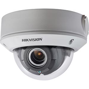 Cámara de vigilancia Hikvision Turbo HD DS-2CE5AD0T-VPIT3F 2 Megapíxel HD - Color, Monocromo - Cúpula - 40 m Infrarrojos Visión Nocturna - 2560 x 1944 - 2,80 mm- 12 mm Verifocal Lentes - 4,3x Óptico - CMOS - Montaje en esquina, En el techo, Soporte de Pared, Montaje vertical, Montable en poste, Montaje colgante - IK10 - IP67 - Resistente al agua, Resistente al polvo, Resistente al Vandalismo