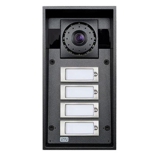 Videointerfono IP Force Antivandalico Con 4 Pulsadores Y Camara Vision Nocturna Hd