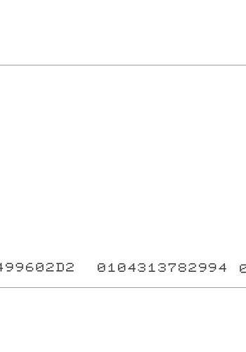 TARJETA 13.56 MHZ MIFARE 1K MEMORIA. CSN IMPRESO 10 DIGITOS. MIN 100 UD