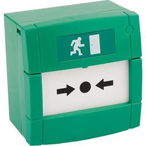 KAC Pulsador manual - Verde