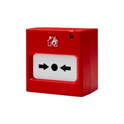 Teletek SensoMAG MCP50 Pulsador manual Para Alarma contra incendios - Rojo - Plastico ABS