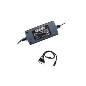 Adaptador CA para Sistema de control de acceso Elmdene Vision - 120 V AC, 230 V AC Input Voltage - 12 V DC Voltaje de salida - 1 A Corriente de salida