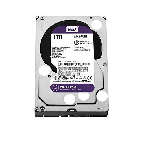 "DISCO DURO 1TB PURPLE 3,5"" SATA 64MB 5400RPM"