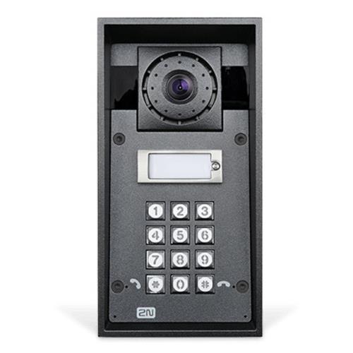 VIDEOINTERFONO IP FORCE ANTIVANDALICO 1 PULSADOR, CAMARA HD, PICTOGRAMA LISTO PARA LECTOR PROXIMIDAD