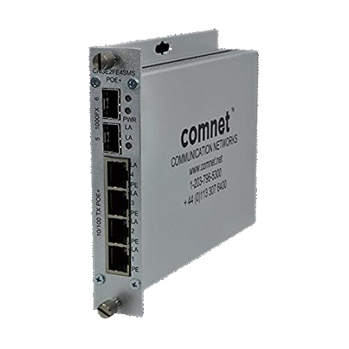 SWITCHES POE 4TX 10/100MB 2FX 1000MB SFP