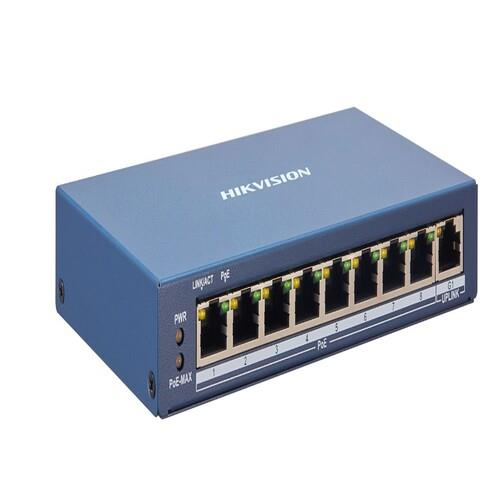 SWITCHES GESTIONABLE 8xPoE 100Mbps +1xGb