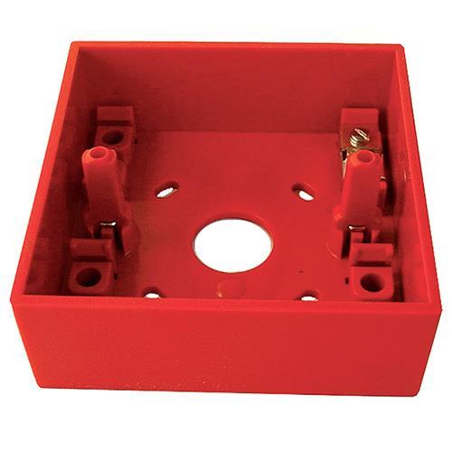 Caja para montaje en superficie para los pulsadores de la serie KAC