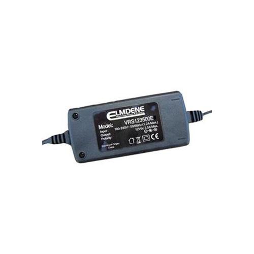 Adaptador CA Elmdene Vision VRS125000EE - 120 V AC, 230 V AC Input Voltage - 12 V DC Voltaje de salida - 5 A Corriente de salida