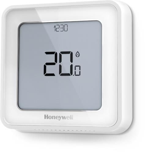 Honeywell Home Termostato Inteligente T6 Color Blanco Cableado Con Wifi