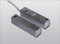 CONTACTO MAGNETICO DE ALUMINIO SUPERFICIE. GAP, 16MM NO METAL. 11MM EN METAL. 1,2M CABLE